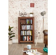 Walnut CD/DVD Storage Units (5)