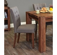 Walnut Dining Chairs (4)