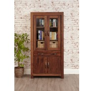 Walnut Display Cabinets (4)
