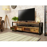 Urban Chic Open Widescreen Television Cabinet