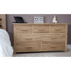 Opus Modern Oak 7 Drawer Multi Chest