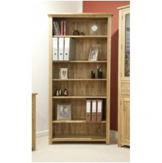 Opus Modern Oak Large Bookcase