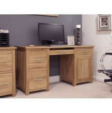 Opus Modern Oak Large Desk