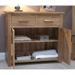 Opus Modern Oak Small Sideboard