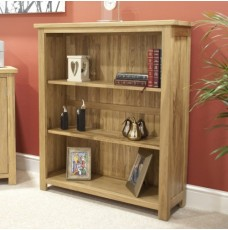 Opus Modern Oak Small Bookcase
