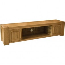 Trend Lifestyle Oak Large Plasma TV Unit