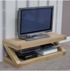 Z Oak Designer Plasma TV Unit