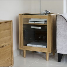 Scandic Oak Hifi Unit
