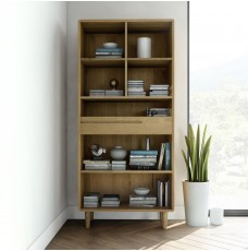 Scandic Oak Large Bookcase