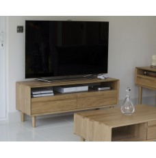 Scandic Oak Medium TV Unit