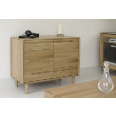 Scandic Oak Small Sideboard