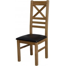 Deluxe Oak Newcross Dining Chair