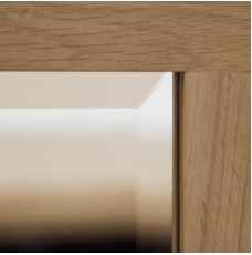 Opus Modern Oak Square 600 X 600 Mirror