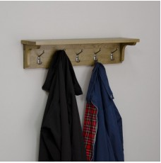 Opus Oak Coat Rack