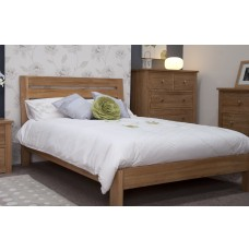 Trend Lifestyle Oak Double Bed