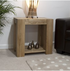 Trend Lifestyle Oak Lamp Table