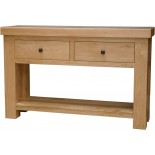 Bordeaux Oak Console Table