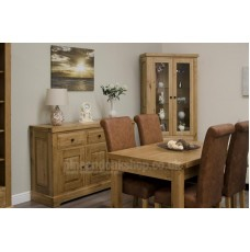 Deluxe Oak Medium Extending Dining Table