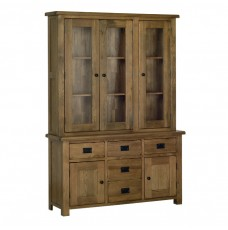 Devonshire Rustic Oak Medium Glazed Dresser