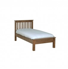 Devonshire Rustic Oak Single LFE Bed