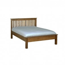 Devonshire Rustic Oak Double LFE Bed