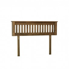 Devonshire Rustic Oak Double Headboard