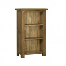 Devonshire Rustic Oak 3ft Narrow Bookcase