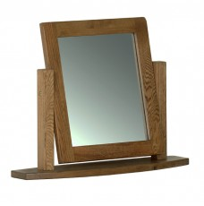 Devonshire Rustic Oak Dressing Table Mirror