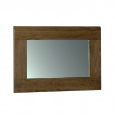 Devonshire Rustic Oak 90 x 60 Wall Mirror