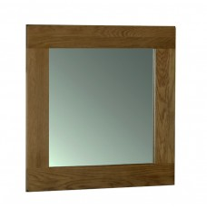 Devonshire Rustic Oak 90 x 90 Wall Mirror