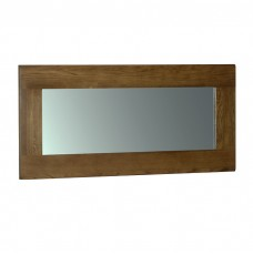 Devonshire Rustic Oak 130 x 60 Wall Mirror