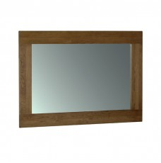 Devonshire Rustic Oak 130 x 90 Wall Mirror