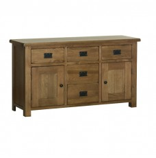 Devonshire Rustic Oak Medium Sideboard