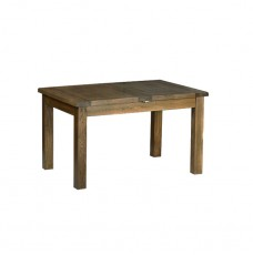 Devonshire Rustic Oak Medium 2 Leaf Extending Table