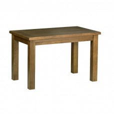 Devonshire Rustic Oak Standard Fixed Top Table