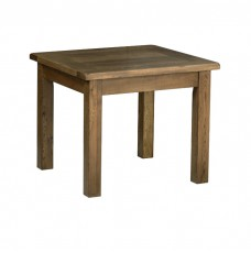 Devonshire Rustic Oak Small Fixed Top Table