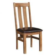 Devonshire Rustic Oak Arizona Dining Chair