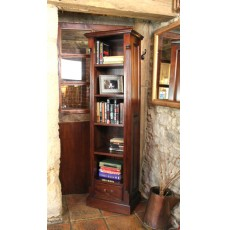 La Roque Mahogany Narrow Alcove Bookcase