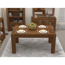 Mayan Walnut 4 Seater Dining Table