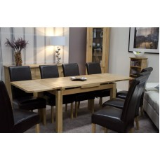 Opus Modern Oak Medium Drawleaf Extending Table