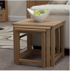 Opus Modern Oak Elegance Nest of Tables