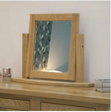 Opus Modern Oak Dressing Table Mirror
