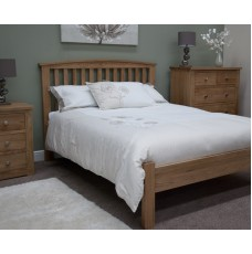 Opus Modern Oak Single Arched Bed