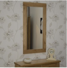 Torino Contemporary Oak 1150 x 600 Tall Mirror