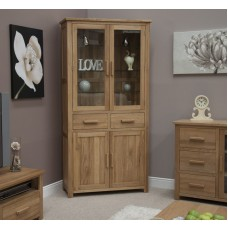 Opus Modern Oak 4 Door Library Unit