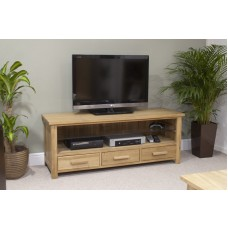 Opus Modern Oak Plasma TV Unit