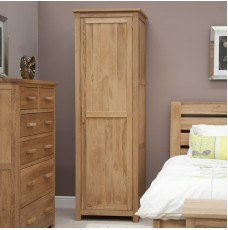 Opus Modern Oak Single Wardrobe