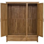 Opus Modern Oak Triple Wardrobe