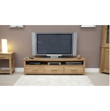 Opus Modern Oak Wide Plasma TV Unit