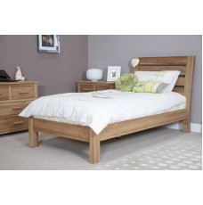 Opus Modern Oak Single Slatted Bed